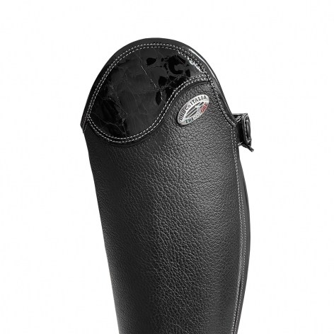 Salentino Riding Boots with Lucidi Black Top Image 3