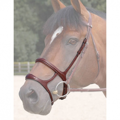 New English Collection Double Noseband B6117 Image 1