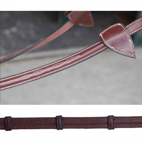 Collection Rubber Reins with Loops B235 Image 2