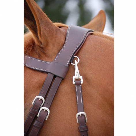 Working Collection Fancy Flash Noseband Bridle B161 Image 4