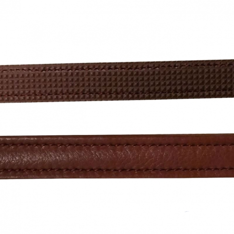 New English Rubber Lined Leather Draw Reins B713 Image 3