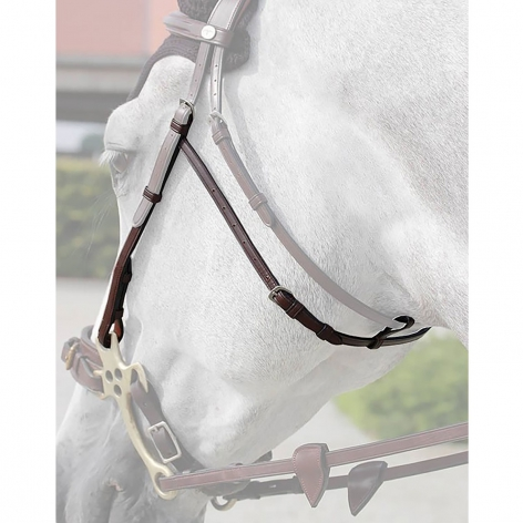 Dyon Hackamore Cheekpieces