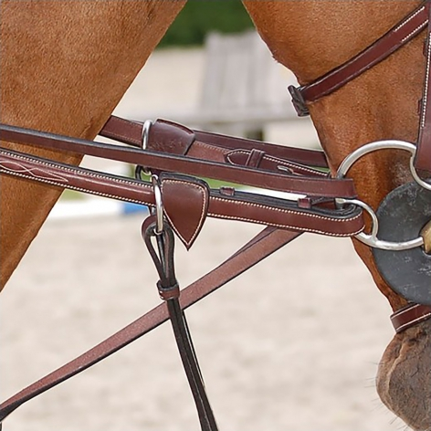 Working Collection Full Leather Draw Reins B761 Image 3