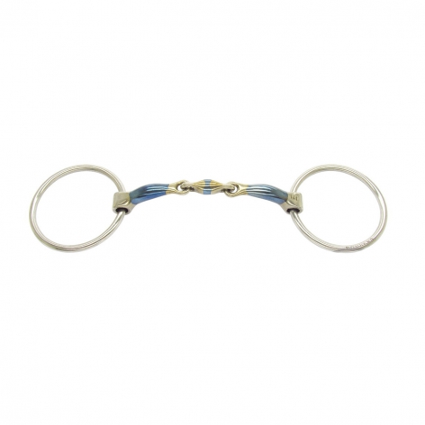 Elliptical Lozenge 38 Comfy Loose Ring Snaffle Image 2