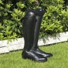Black Horse Riding Boots