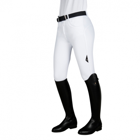 Equiline White Winter Breeches