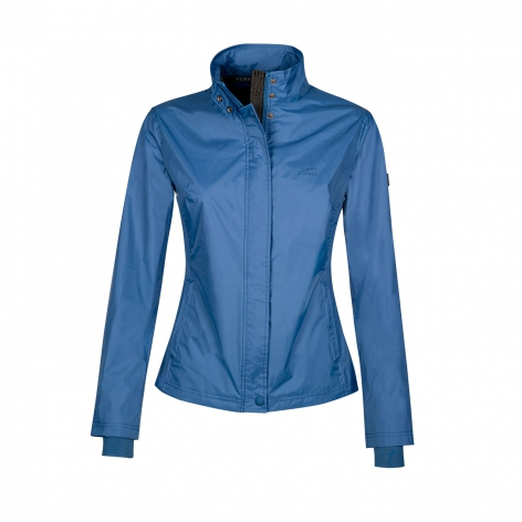 Equiline Blue Waterproof Jacket