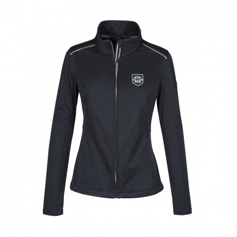 Equiline Navy Softshell Jacket