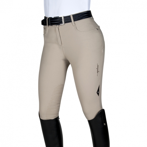 Equiline Beige Competition Breeches