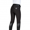 Nelly Full Grip Breeches - Black Image 2