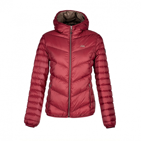 Burgundy Equiline Jacket