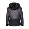 Equiline Black Quilted Jacket