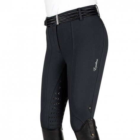 Black Equiline Breeches