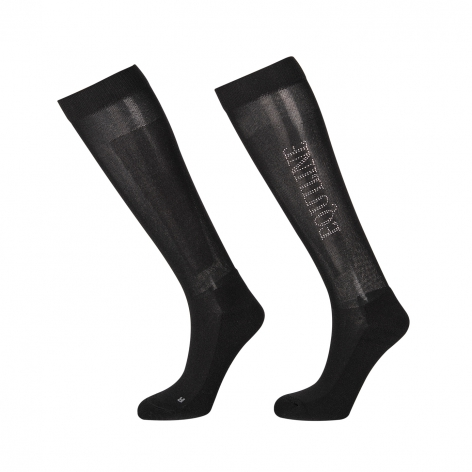 Black Equiline Socks