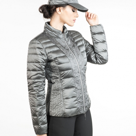 Parsifal Down Jacket - Antique Silver Image 3