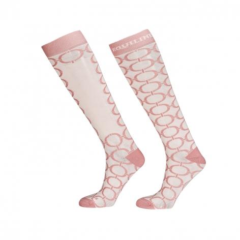 Pink Equiline Socks