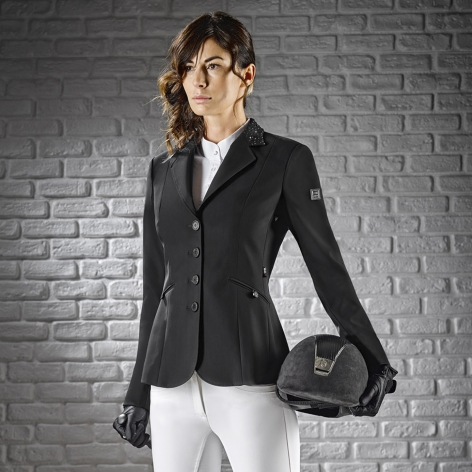 Equiline Black Show Jacket