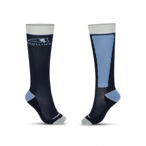 Equiline Navy Riding Socks