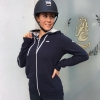 Equiline Navy Equestrian Hoody