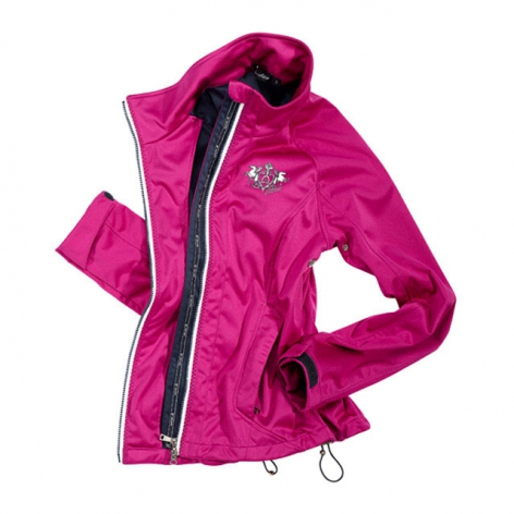 Pink Softshell Riding Jacket