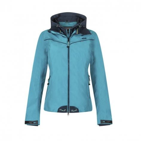 Blue Waterproof Riding Jacket