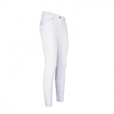 White Diamante Competition Breeches