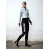 Black Euro-Star Breeches