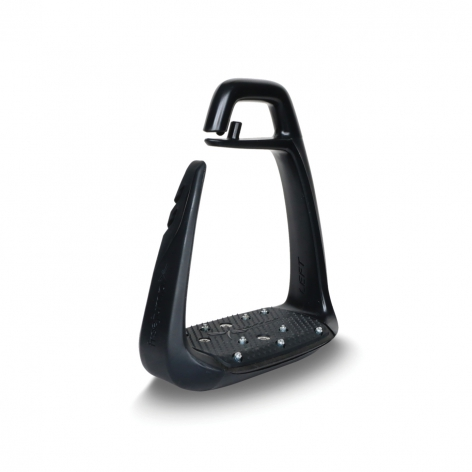 Black Freejump Stirrups