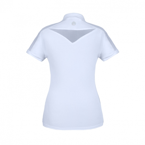 Claire Pearl Show Shirt - White Image 3