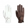 Roeckl Brown Riding Gloves
