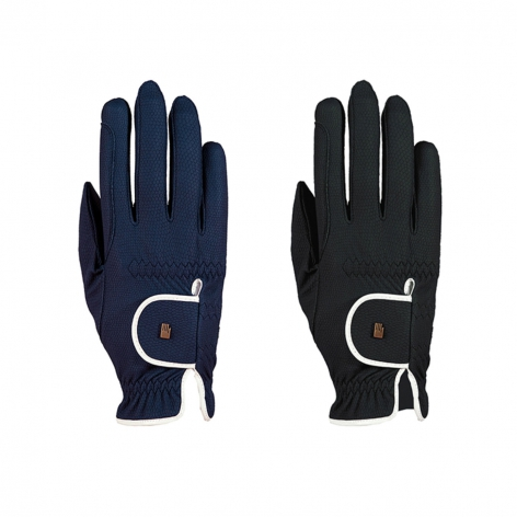 Roeckl Navy Riding Gloves