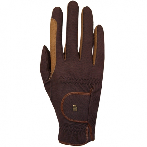 Brown Roeckl Riding Gloves