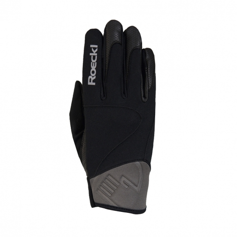 Roeckl Black Winter Gloves