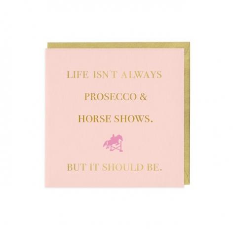 Equestrian Greetings Card