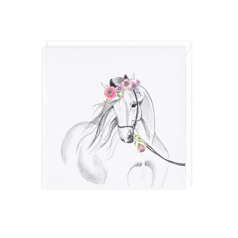 Horse Greetings Card