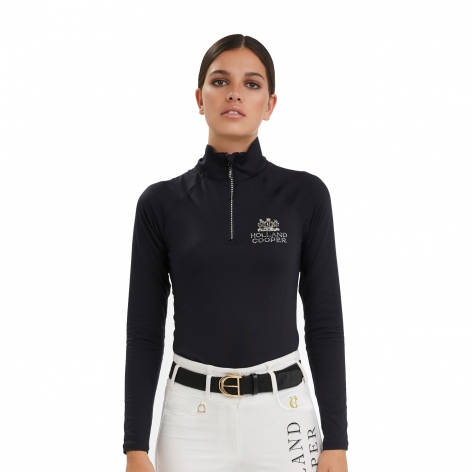 Holland Cooper Black Baselayer