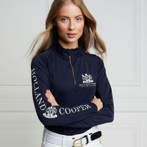 Holland Cooper Navy Baselayer