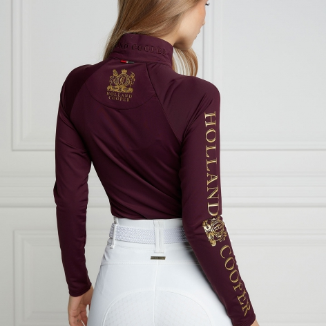 Equi Base Layer - Mulberry Image 3