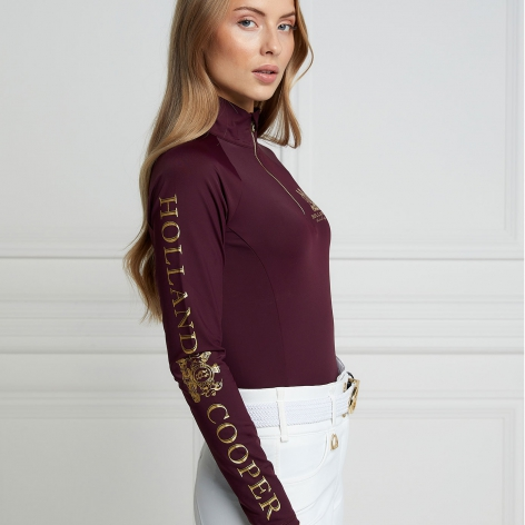 Equi Base Layer - Mulberry Image 4