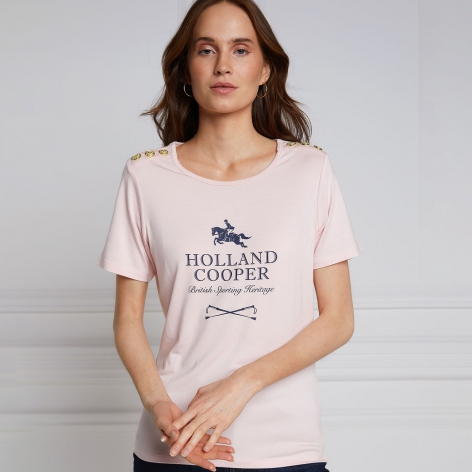 Pink Holland Cooper T-Shirt