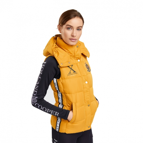 Holland Cooper Yellow Gilet