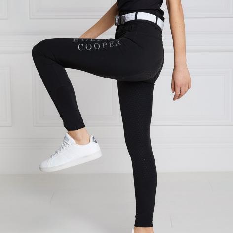 Ascot Breeches - Black Reflective Image 4