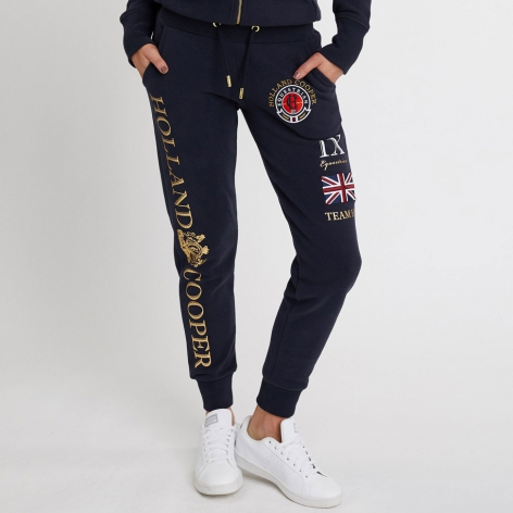 Holland Cooper Navy Joggers