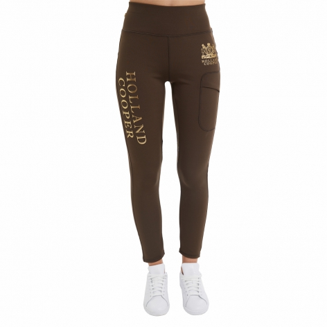 Holland Cooper Khaki Leggings