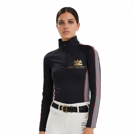 Holland Cooper Houndstooth Baselayer