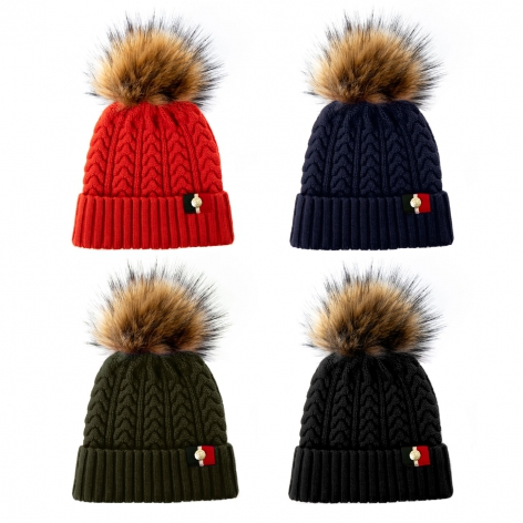 Holland Cooper Bobble Hat