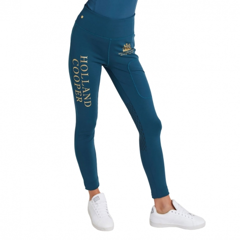 Holland Cooper Blue Leggings