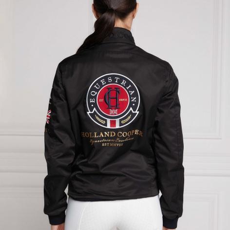 Harrington Team Jacket - Black Image 4