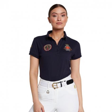 Holland Cooper Navy Polo