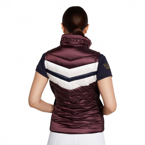 Sports Team Gilet - Mulberry Image 3